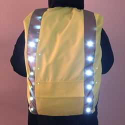 USB Rechargeable LED Backpack Cover
