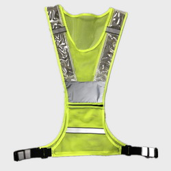 Reflective LED Cycling Safety Vest