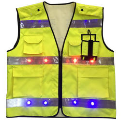 High visibile LED Reflective Vest