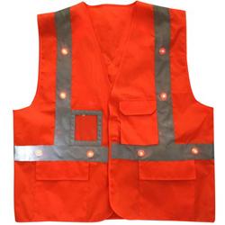 Rechargeable LED Light Up Safety Vest