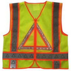 CLASS 3 LED lighted Reflective Safety Vest