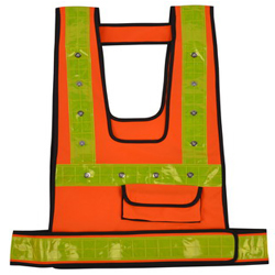 Rechargeable Reflective LED Vest