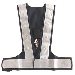 Premium Traffic LED Falshing Safety Vest