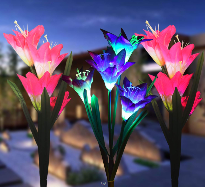 How much do you know about solar flower lights?