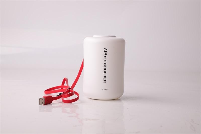 تصميم جديد بالموجات فوق الصوتية USB ضباب بارد مرطب صغير مرطب زجاجة مياه محمولة صغيرة