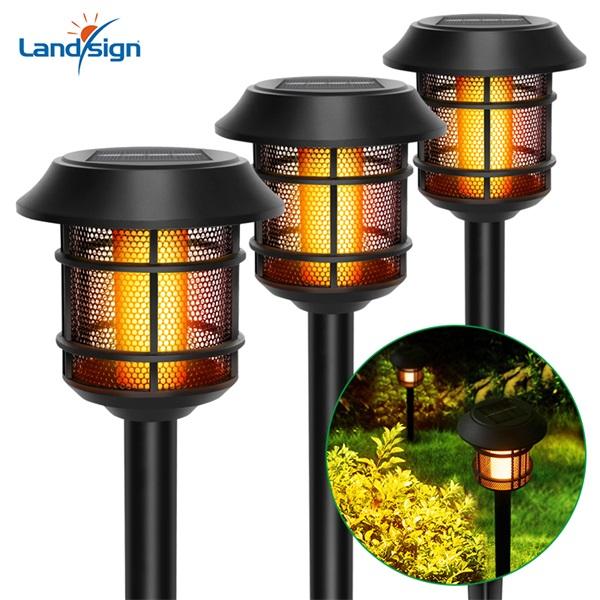 Solar outdoor landscape torch light