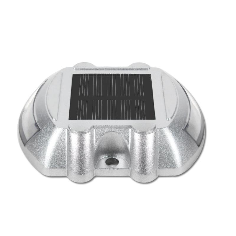 Luz de aviso solar para exteriores de calzada impermeable