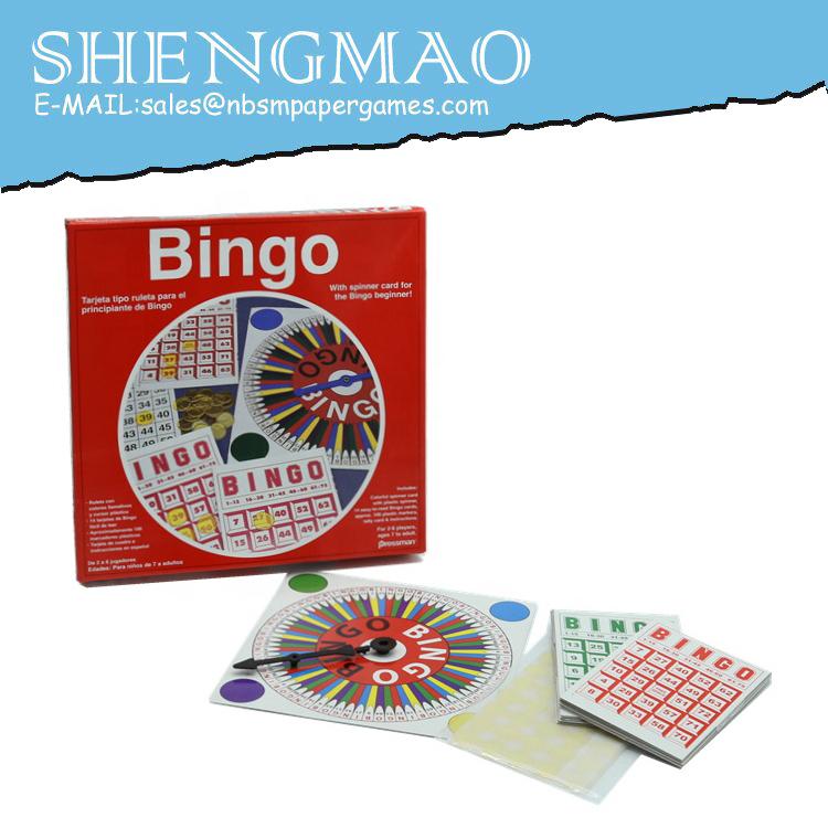 Bingo Planche Jeu Ensemble
