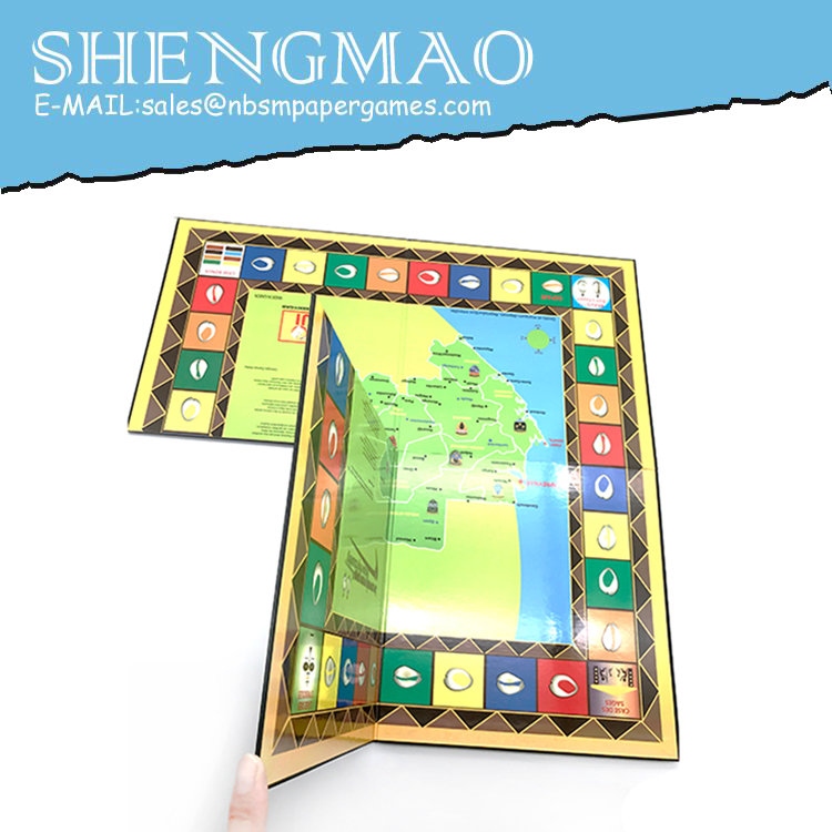 Foldable Game Board
