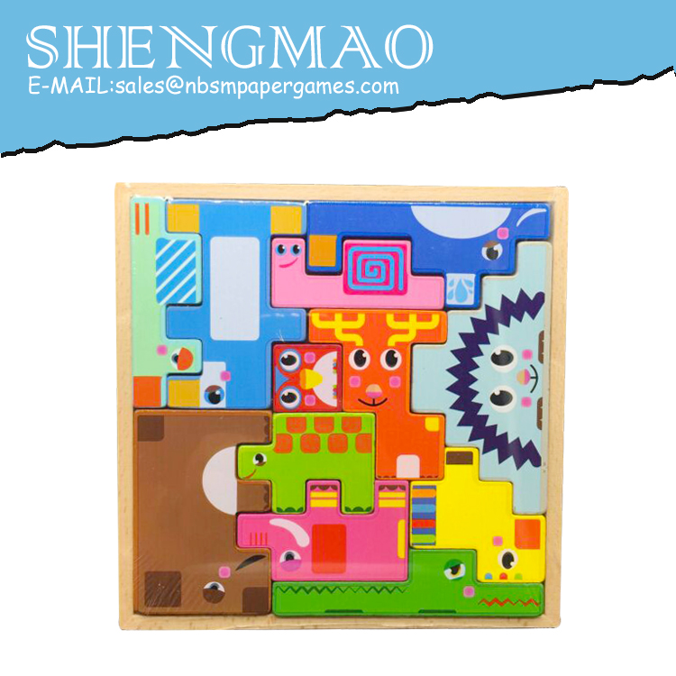 Children Wooden Puzzle Game