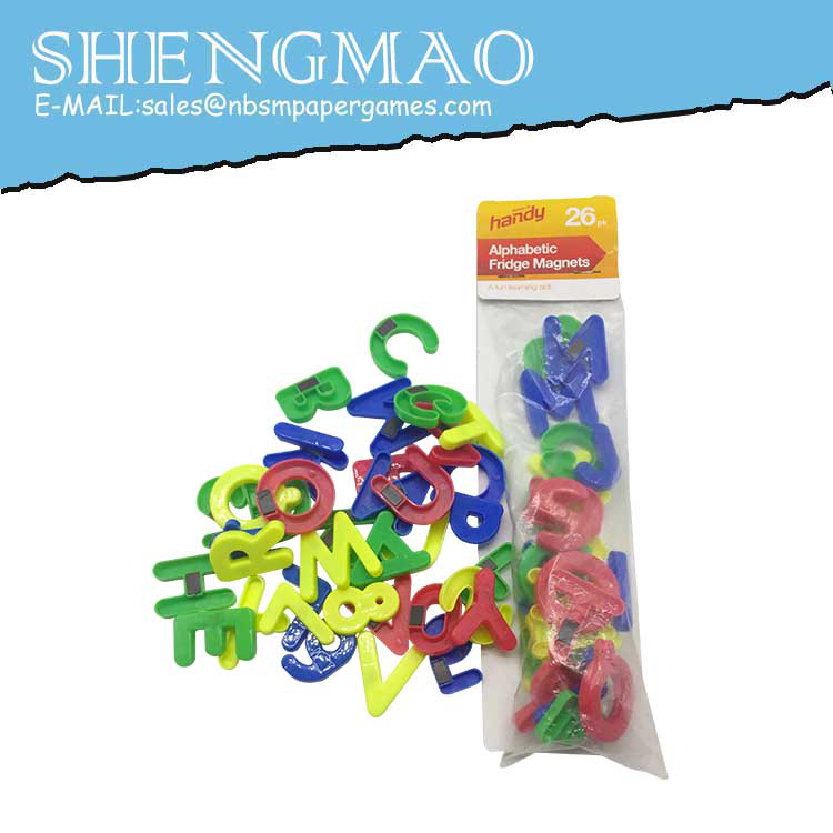 Pedagogisk Plast Magnetisk Brev av Alfabet