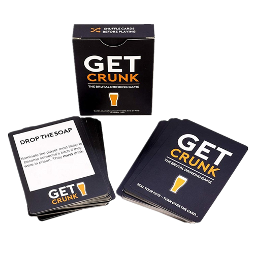 Card Game for Adult with Tuck Top Box