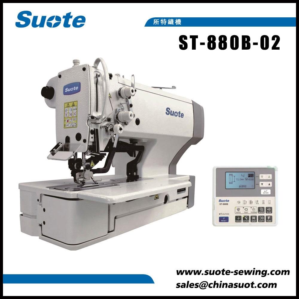 Electronic Lockstitch Button Hole Sewing Machine