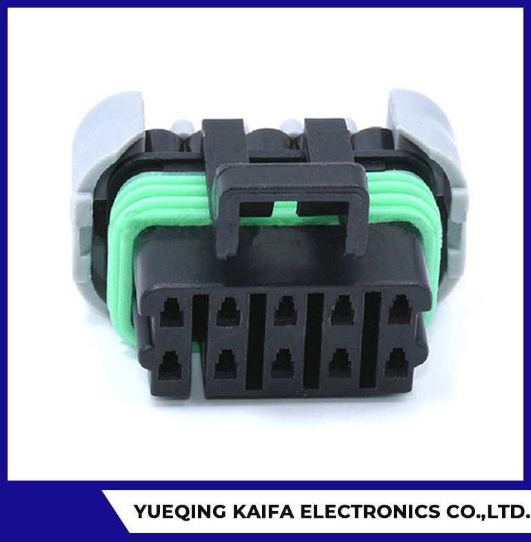 10 Pin Plastic Automotive Wire Connector