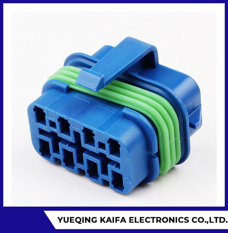Bule Automotive Wire Harness Connector Plug
