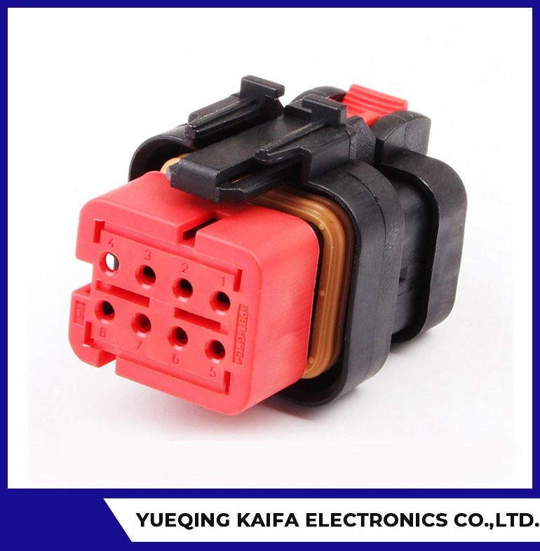 8 Pin Automotive Electrical Wire Connector