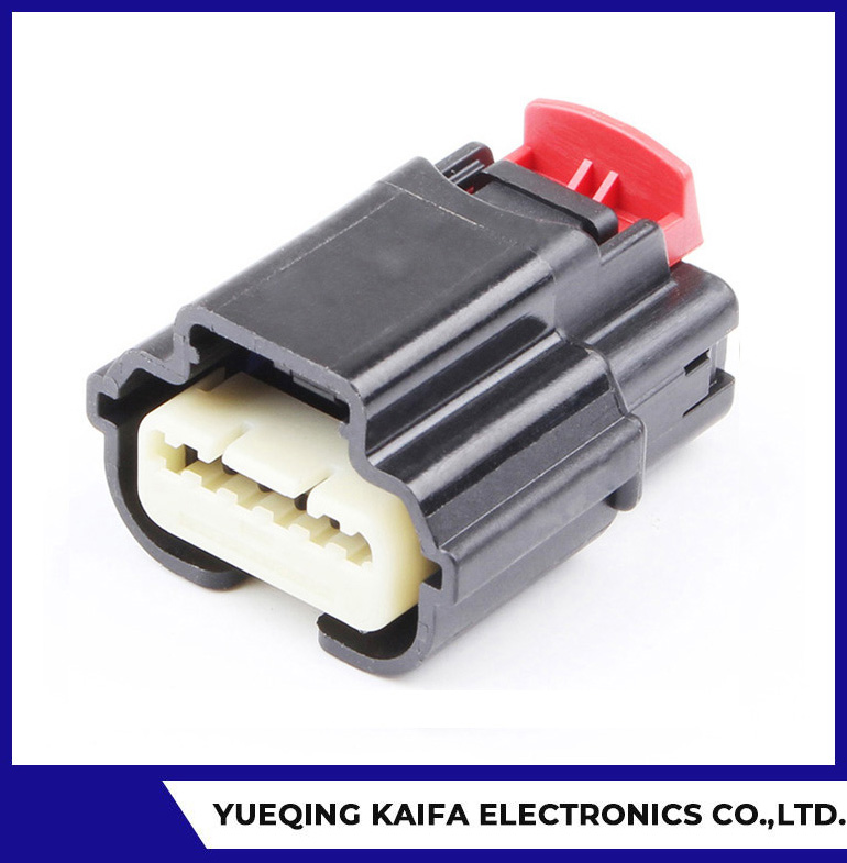 6 Pin Plastic Automotive Wire Connector
