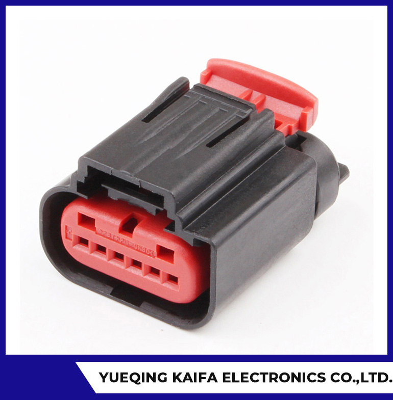 6 Pin Female Automotive Connector