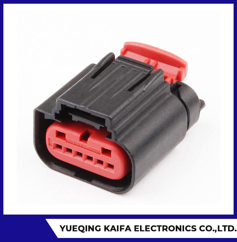6 Pin Auto ECU Car Connector