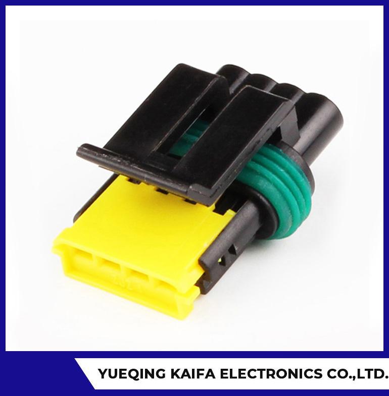 4 Pin Plastic Automotive Connector