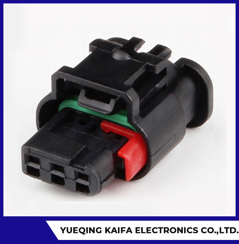 3 Pin Plastic Automotive Wire Connector
