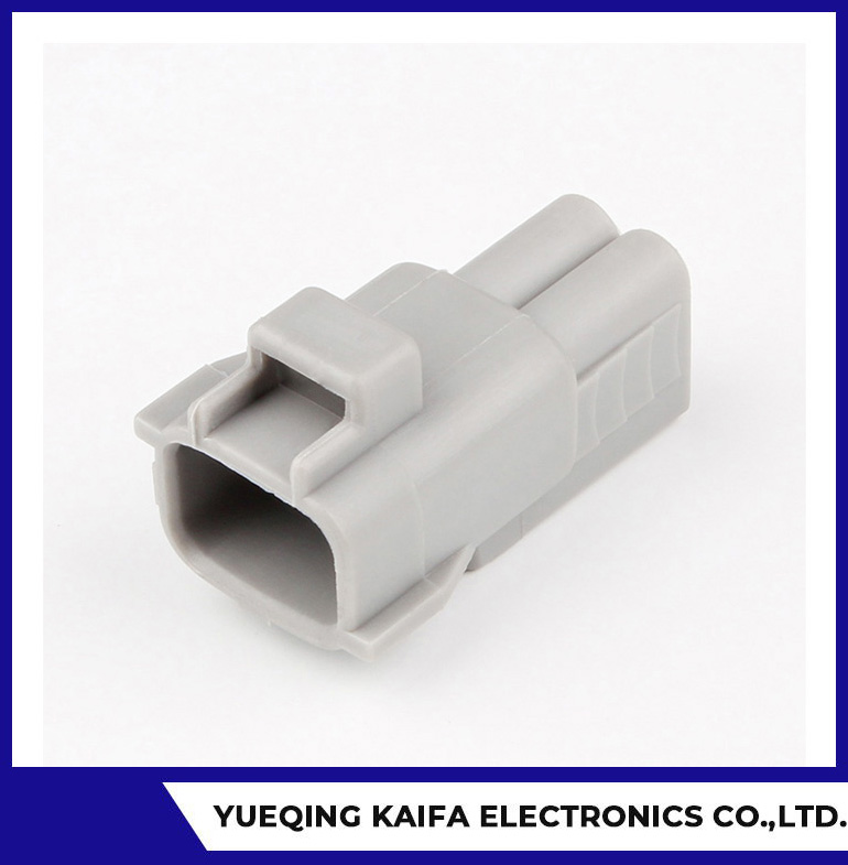 2 Way Male Waterproof Automotive Electrical Connector