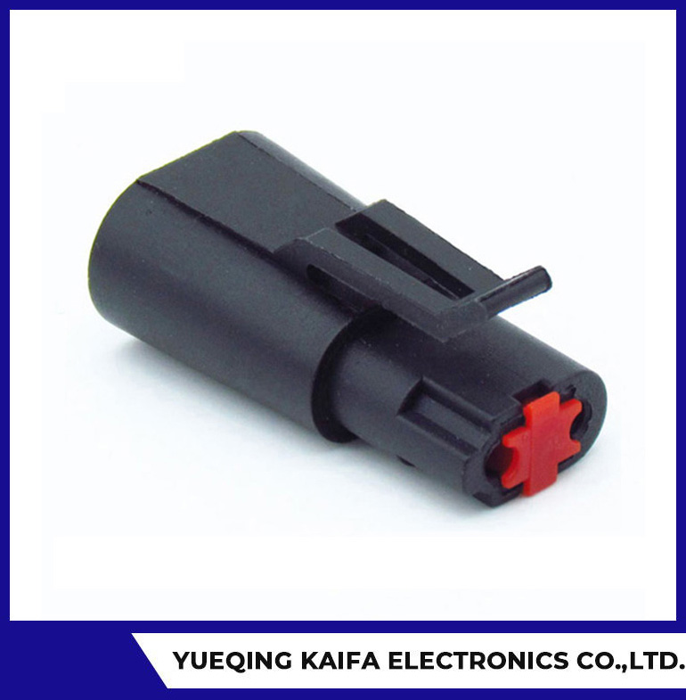2 Pin Electrical Wire Automotive Connector Plug