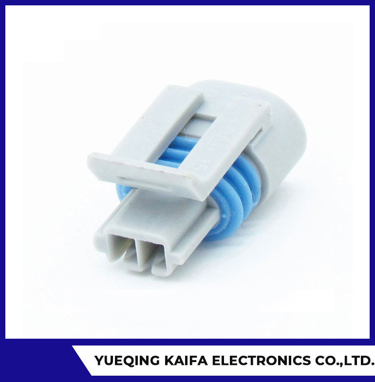 2 Pin Sealed Electrical Wire Connector Plug