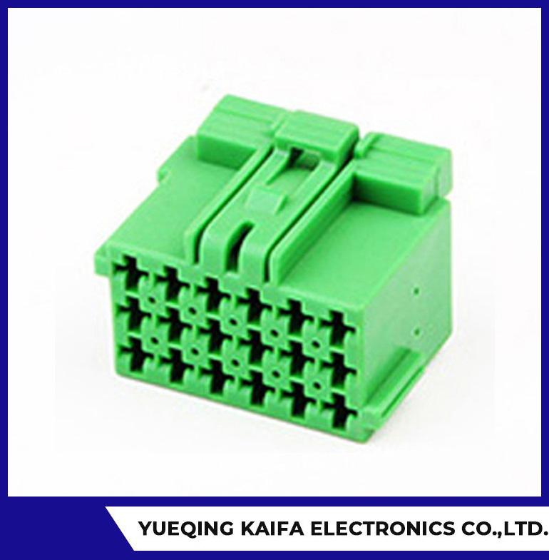 18 PIN Fil elektrik Connector Ploge