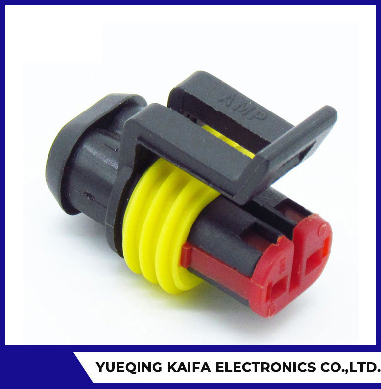 TE AMP Superseal Series 1.5mm Plug Housing