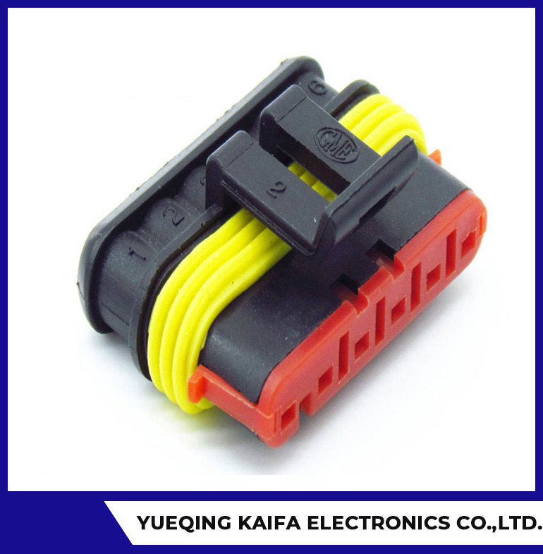 AMP Superseal 4 Way Female Connector