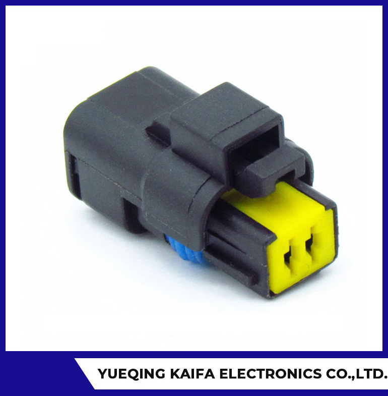 2 Pin Amphenol FCI Connector