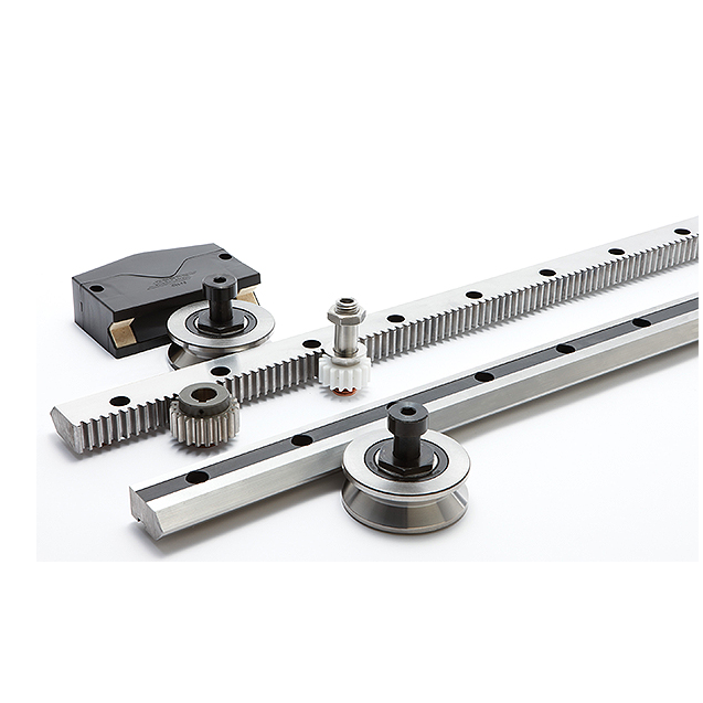 Linear Motion Tracks For Robotic Positioning