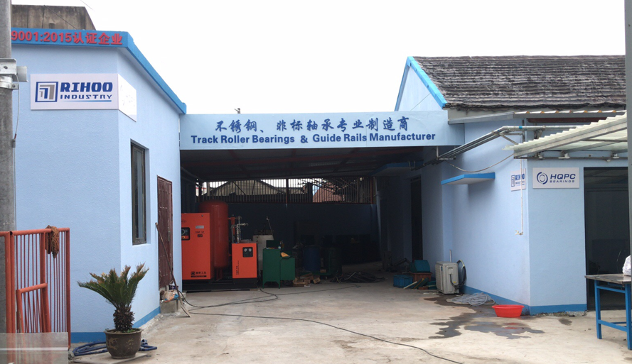 Rihoo New Production Base For Track Roller Bearings Ma Guide Rails