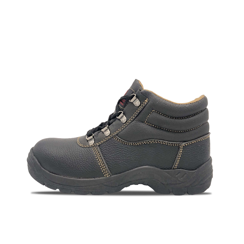 PU Surface PVC Safety Shoes