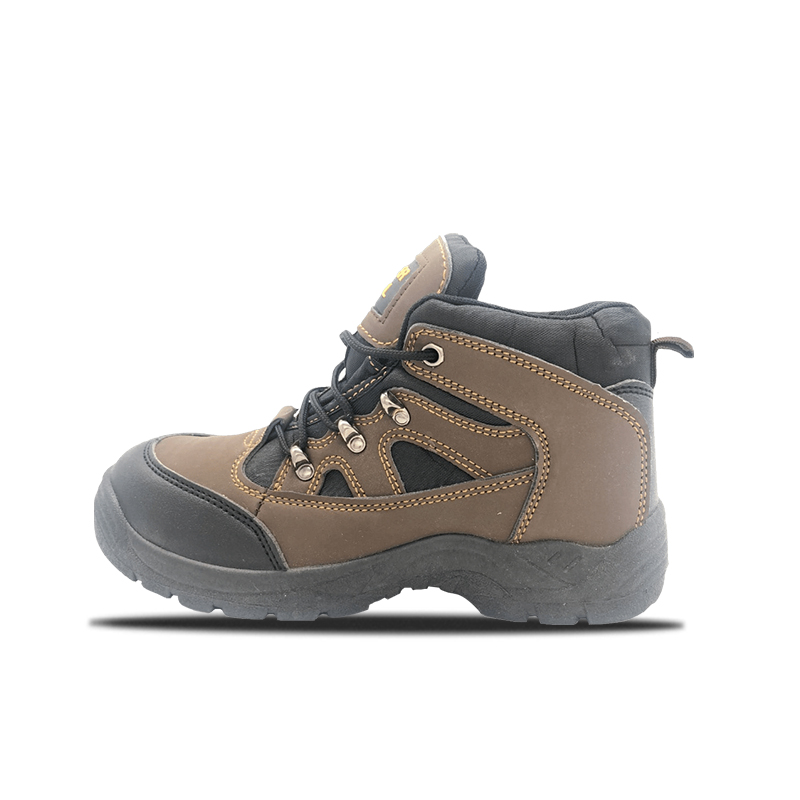 PVC Mid Cut Safety Shoes