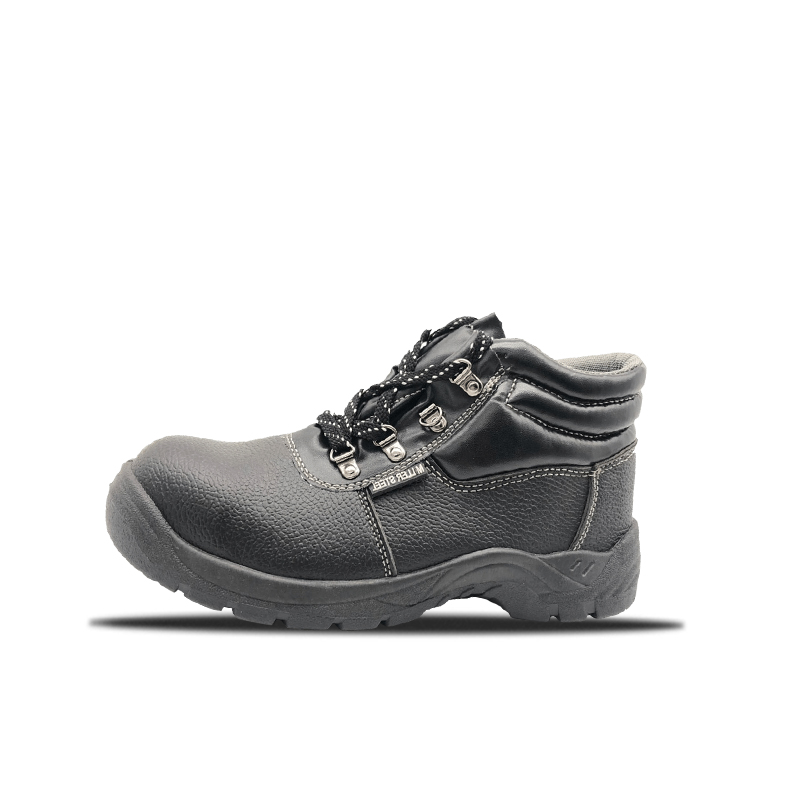 Nahk PVC Bottom Safety Shoes