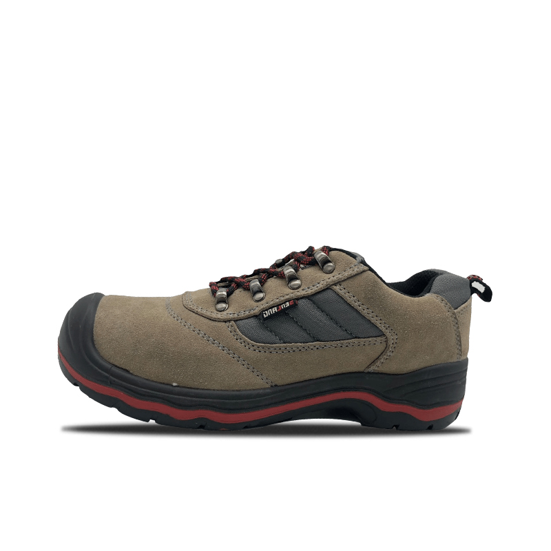 PU And RUBBER Low Cut Safety Shoes