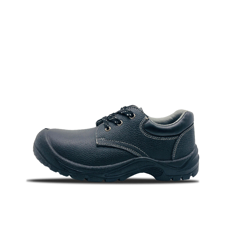 Embossed Leather Labor Insurance Shoes