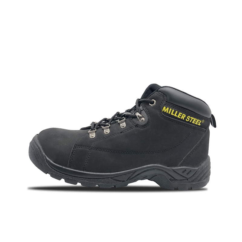 PU Mid Cut Army Safety Shoes