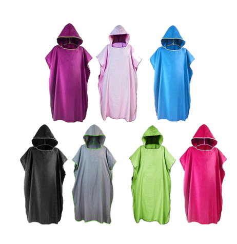 Adult Sexy Towel Hooded Beach Ponchos