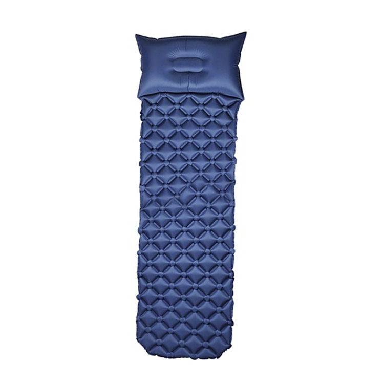 Inflatable Sleeping Mat With Pillow