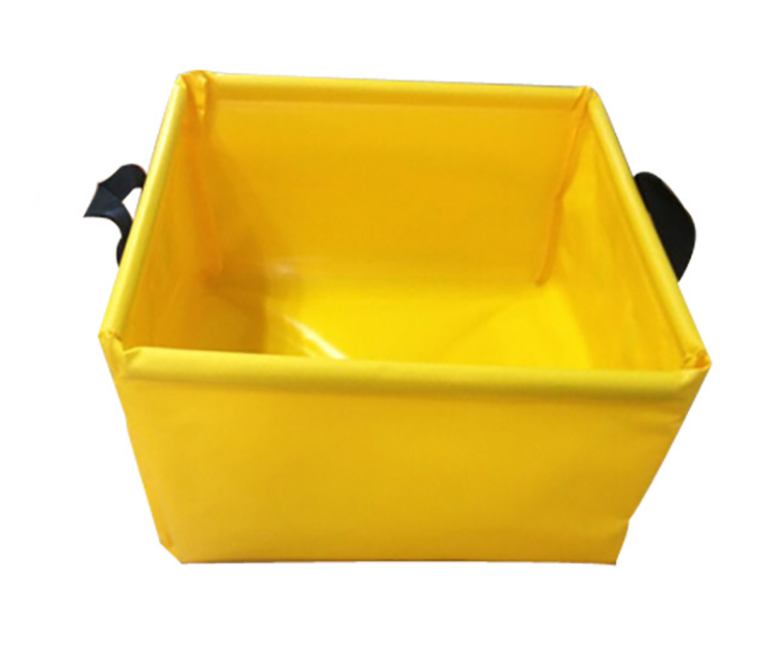 Camping Portable Collapsible Water Basin For Hiking Fishing
