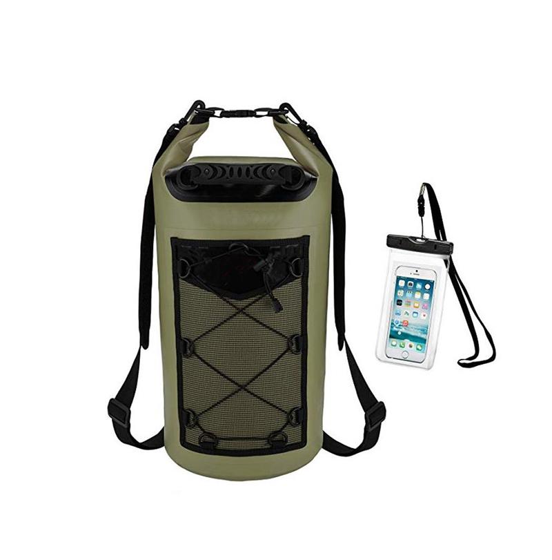 Воданепранікальны плавае сухі заплечнік сумкі для водных відаў спорту
