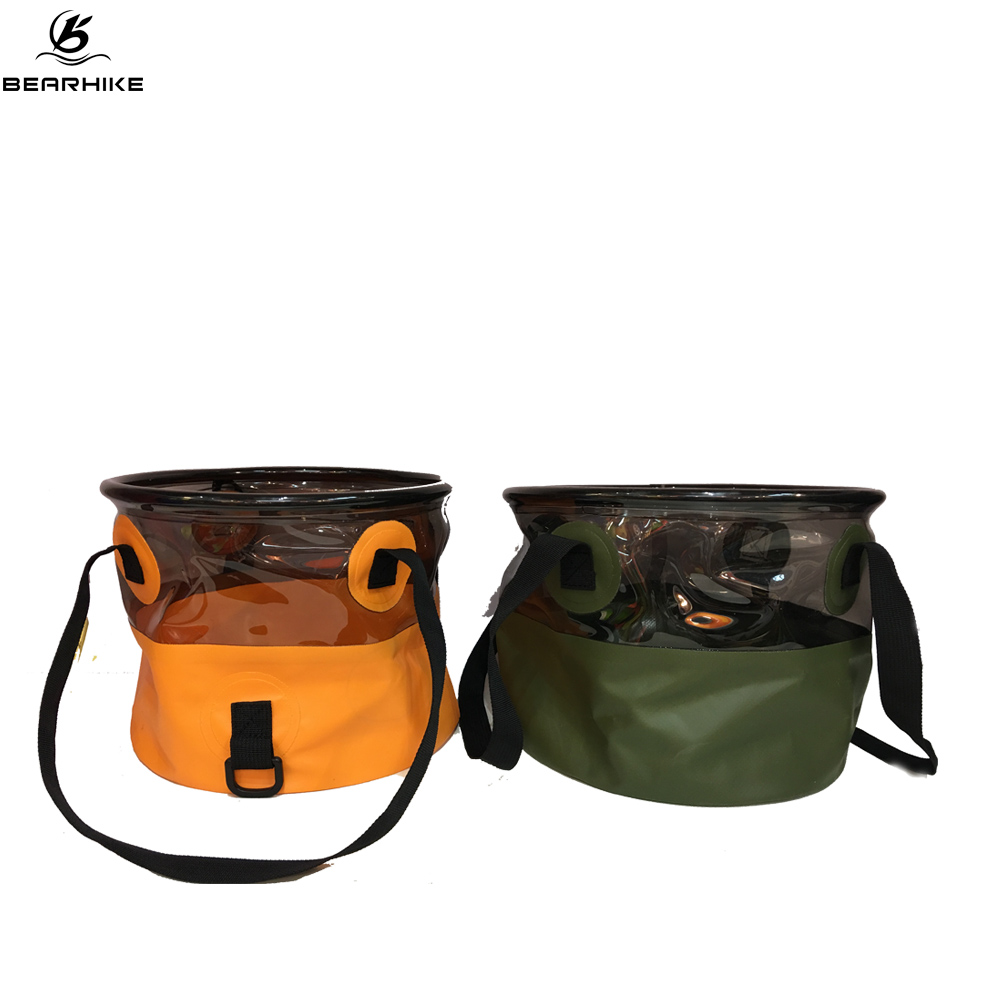 Portable Collapsible Folding Wash BasinBucket for Camping Travel and Gardening