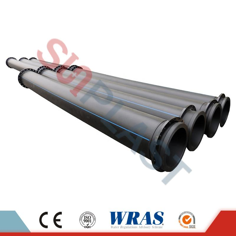 HDPE Pipe With Flanges For Dredge and Mining
