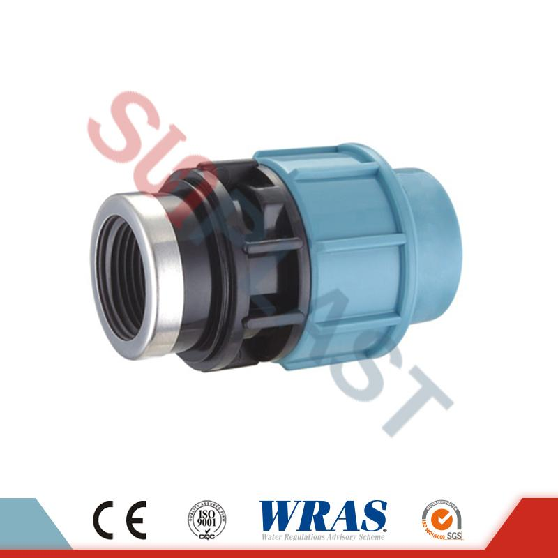 PP Compression Female Coupler