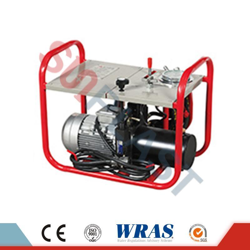 Machine hydraulique de soudure par fusion bout à bout de 90-250mm pour le tuyau de HDPE