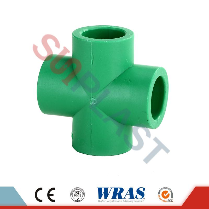 DIN8077 PPR Cross Fittings