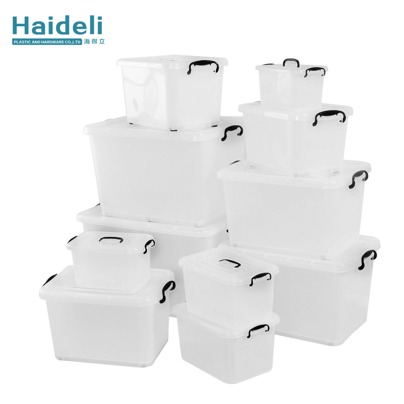 Plastic Large Storage Containers With Wheels